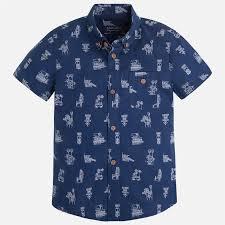 fe66cf0e4 Koszule dla chłopców 92-134cm, z muszką - Mayoral - Strona 1 ...