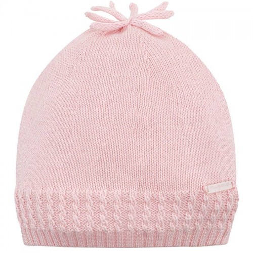 e59ae2077e MAYORAL 9158 Czapka dla dziewczynki różowa - Produkty Mayoral ...